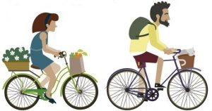 cycling to reduce weight
